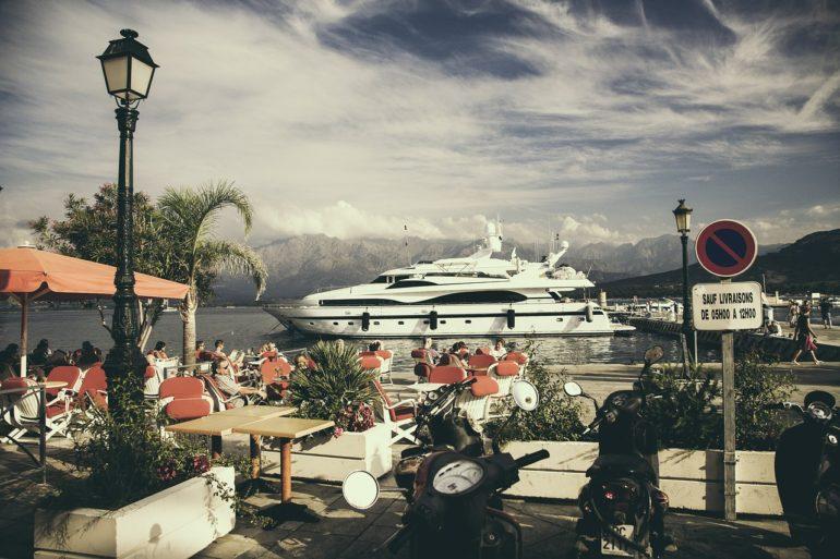 location yacht Corse