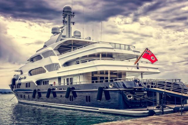 yacht au brésil